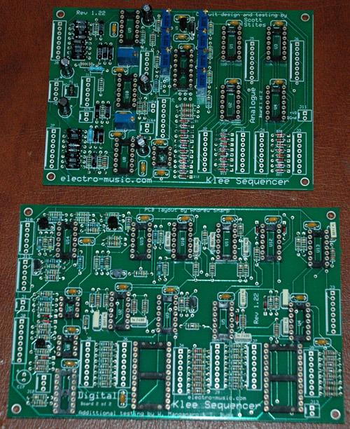 Klee v2 PCB's