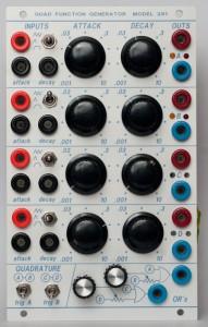 281 Quad Function Generator - front panel