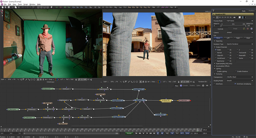 Compositing with Blackmagic Fusion 7