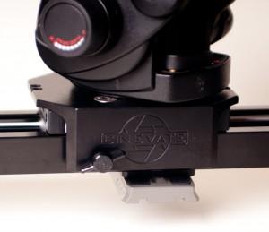 Cinevate Atlas 10 Camera Slider - tripod mount plate