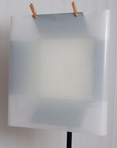 LED Light with White Frost Diffusion Gel