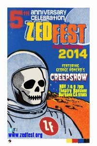 Zed Fest Film Festival Poster 2014 Smallest