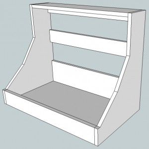 Buchla 200 custom cabinet v2