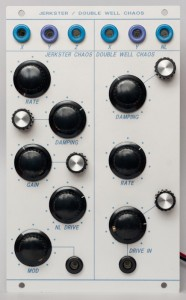 Jerkster Chaos / Double Well Chaos - front panel