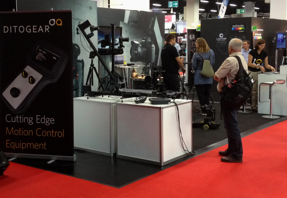 Ditogear and Cinevate at Photokina 2012