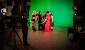 Fantasy short film green screen shoot 2