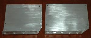 Aluminum custom brackets