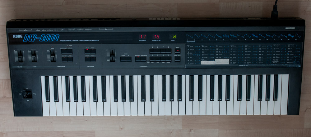 Korg DW-8000 synthesizer