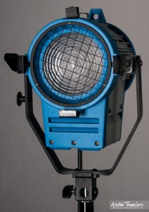 """Like ARRI"" 650W Fresnel light with cracked fresnel lens"