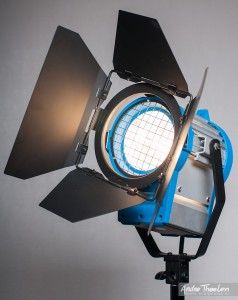 """Like ARRI"" 650W Fresnel light with original ARRI replacement lens"
