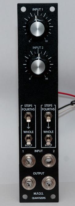 MFOS Quantizers front panel