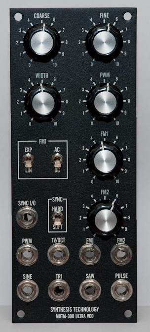 MOTM-300 front panel