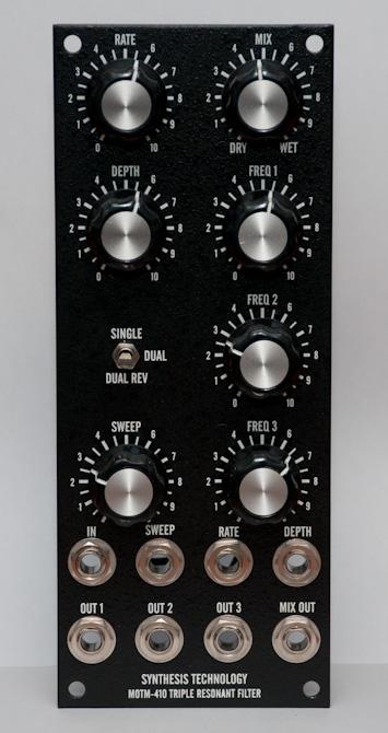 MOTM-410 front panel