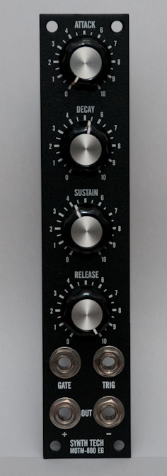 MOTM-800 front panel