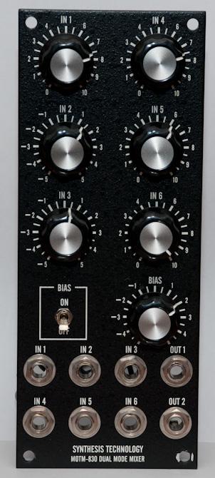 MOTM-830 front panel