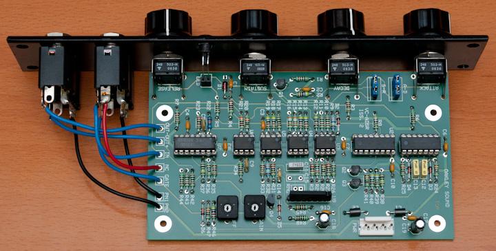 Oakley Sound ADSR\VCA PCB