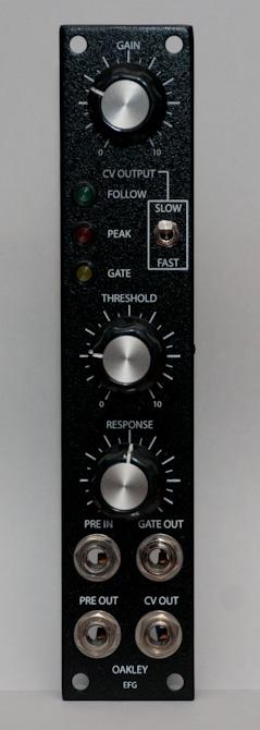 Oakley Sound EFG front panel