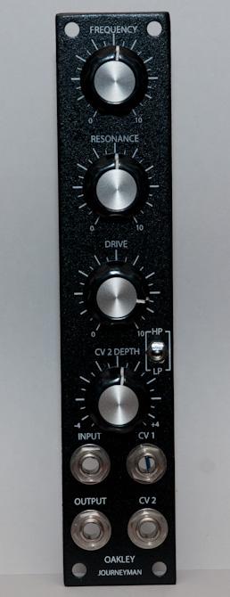 Oakley Sound Journeyman Filter front panel
