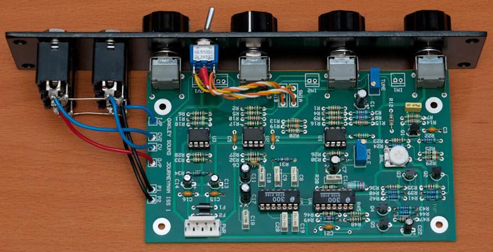 Oakley Sound Journeyman Filter PCB