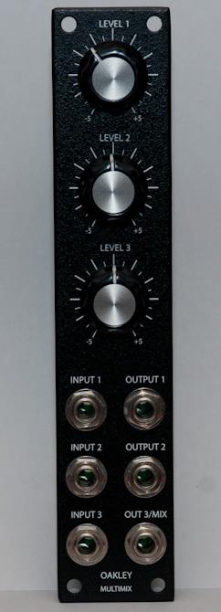 Oakley Sound Multimix front panel