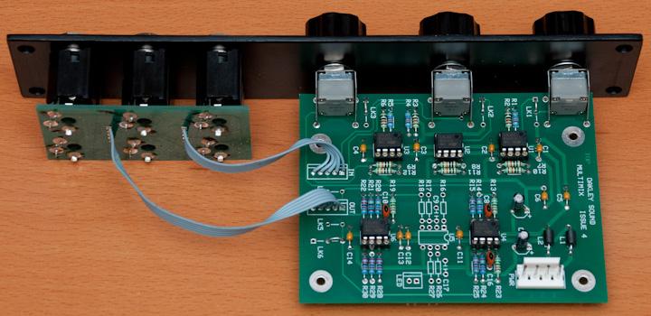 Oakley Sound Multimix PCB
