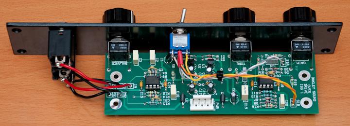Oakley Sound Overdrive PCB
