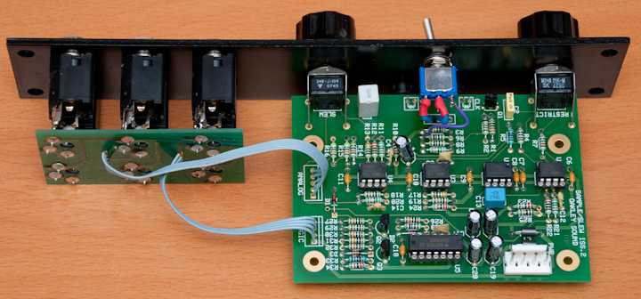 Oakley Sound Sample&Hold PCB