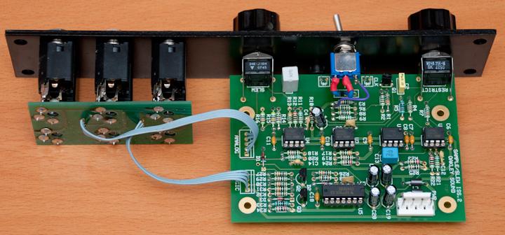 Oakley Sound Sample&Hold PCB