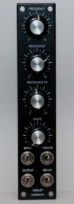 Oakley Sound Supperladder VCF front panel