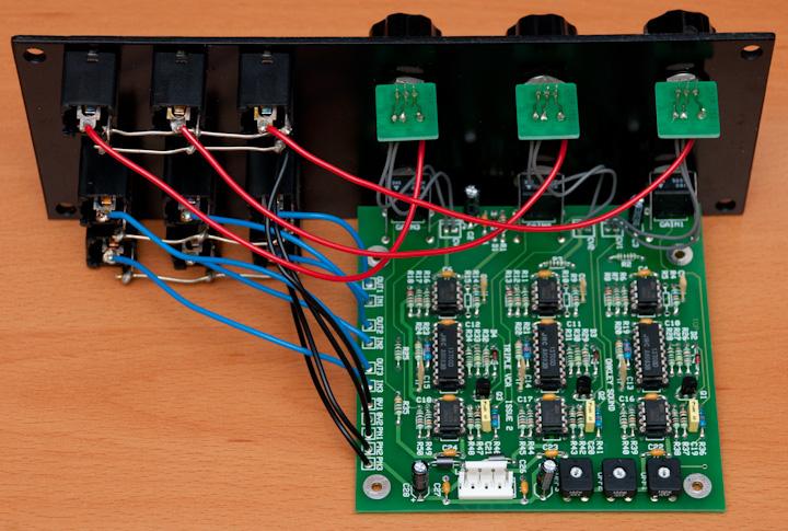 Oakley Sound Triple VCA PCB