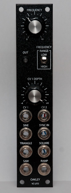 Oakley Sound VC-LFO front panel
