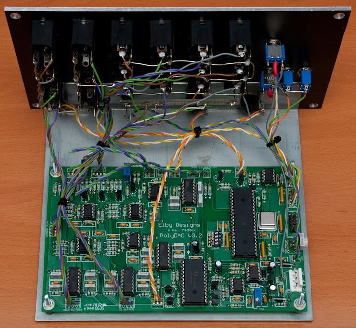 PolyDAC PCB